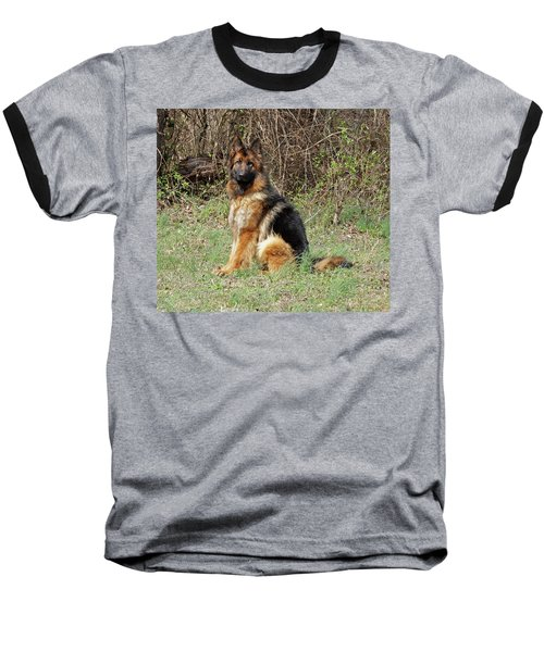 Baseball T-Shirt featuring the photograph Jessy by Sandy Keeton