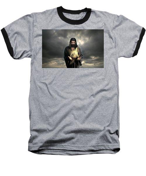 Jesus Christ- Look I Am Coming Soon Baseball T-Shirt