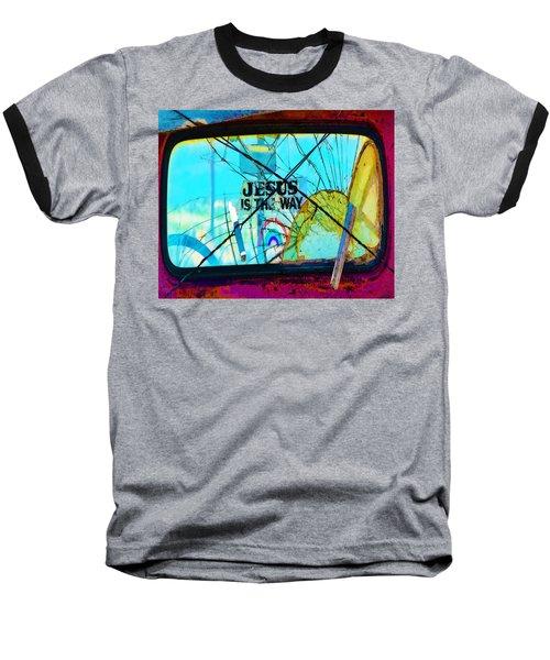 Jesus Is The Way Baseball T-Shirt