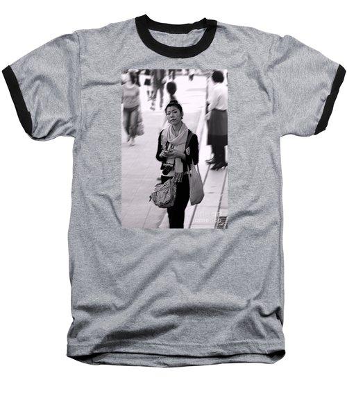 Jidai Matsuri Xv Baseball T-Shirt by Cassandra Buckley