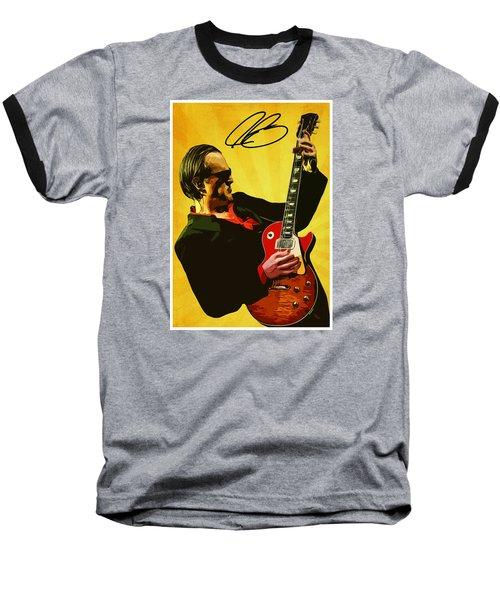 Joe Bonamassa Baseball T-Shirt by Semih Yurdabak