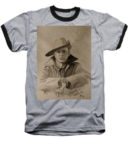 Joe Baseball T-Shirt by Ray Agius