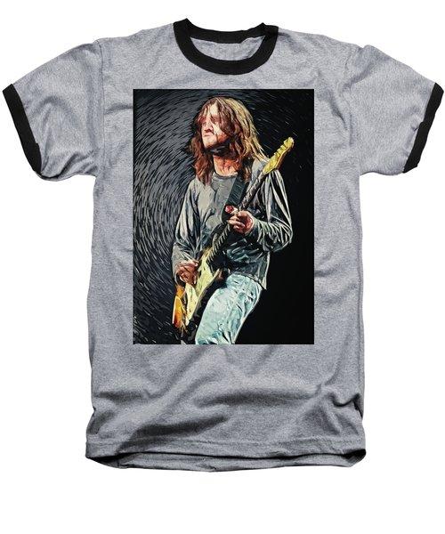 John Frusciante Baseball T-Shirt by Taylan Apukovska