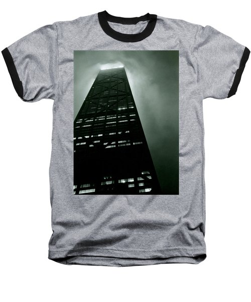 John Hancock Building - Chicago Illinois Baseball T-Shirt