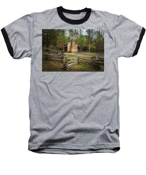 John Oliver Cabin Cades Cove Baseball T-Shirt