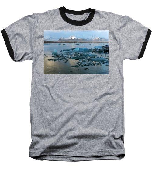 Baseball T-Shirt featuring the photograph Jokulsarlon, The Glacier Lagoon, Iceland 5 by Dubi Roman
