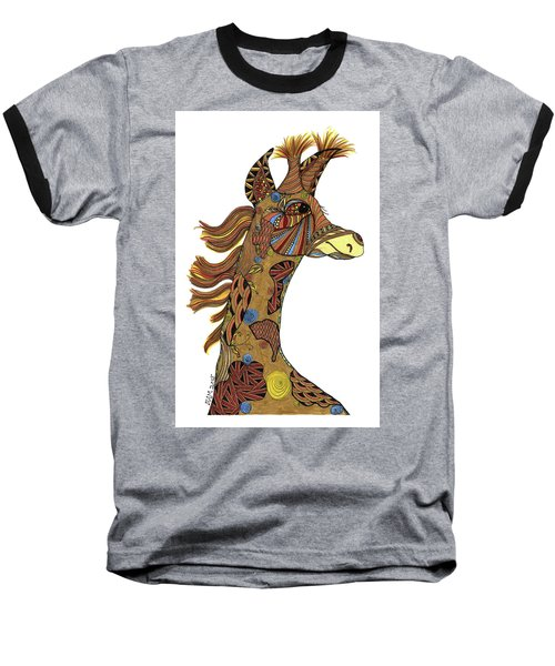 Josi Giraffe Baseball T-Shirt