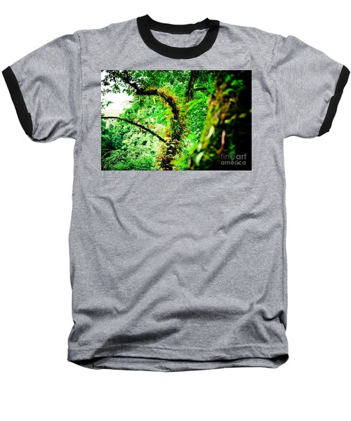 Jungle Annapurna Yatra Himalayas Mountain Nepal Baseball T-Shirt
