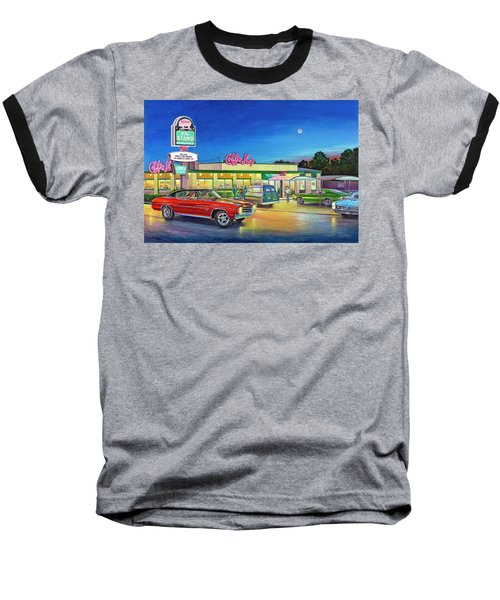 Muscle Car Cruise Night Baseball T-Shirt