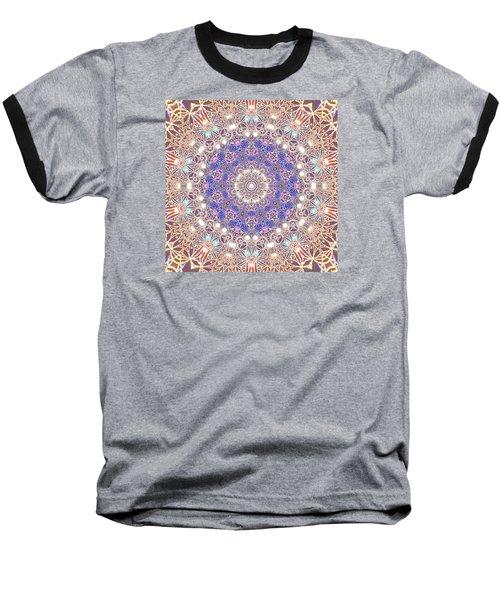 Baseball T-Shirt featuring the digital art Jyoti Ahau 8 by Robert Thalmeier