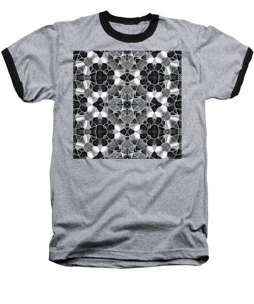 Kaleidoscop Baseball T-Shirt by Michal Boubin