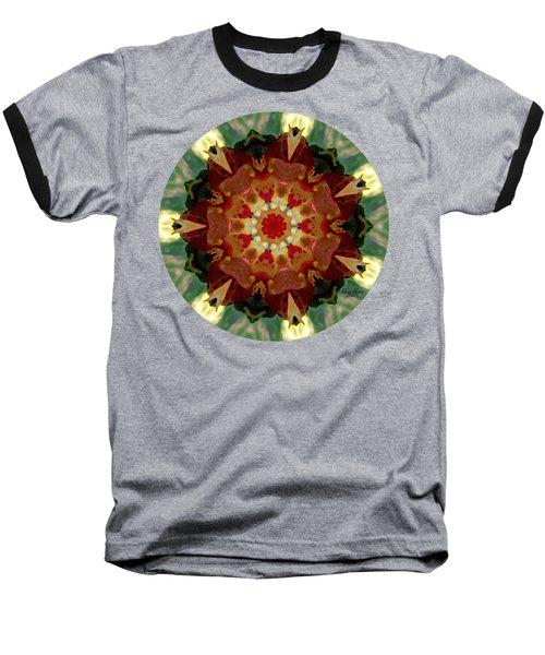 Kaleidoscope - Warm And Cool Colors Baseball T-Shirt