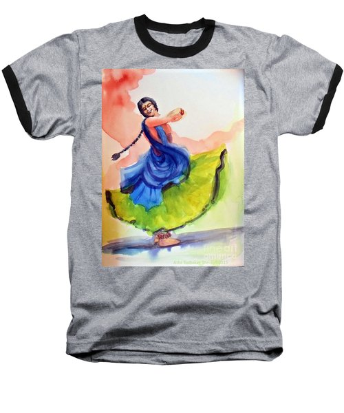 Kathak Dancer Baseball T-Shirt