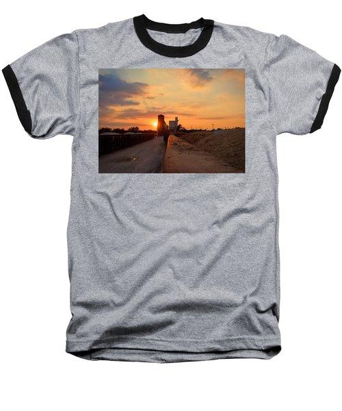 Katy Texas Sunset Baseball T-Shirt