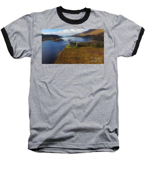 Kilchurn Castle Baseball T-Shirt