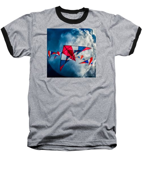 Kites Baseball T-Shirt