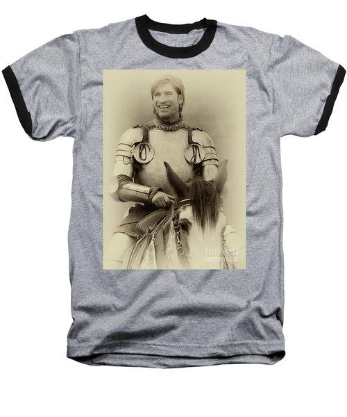 Knights Of Old 12 Baseball T-Shirt by Bob Christopher