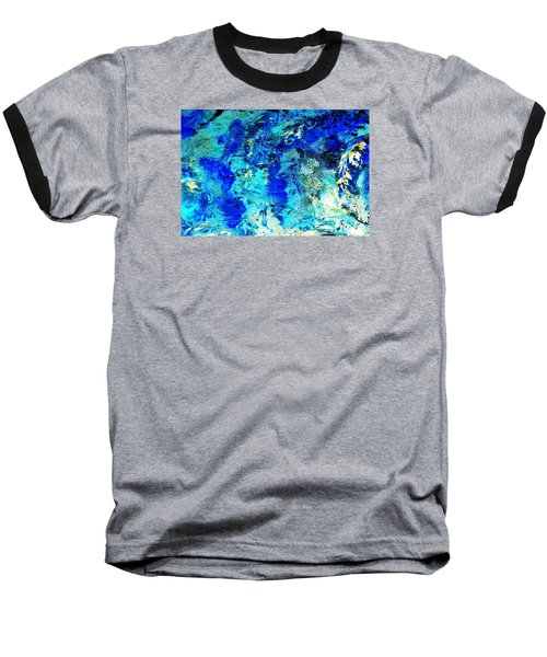 Koi Abstract Baseball T-Shirt