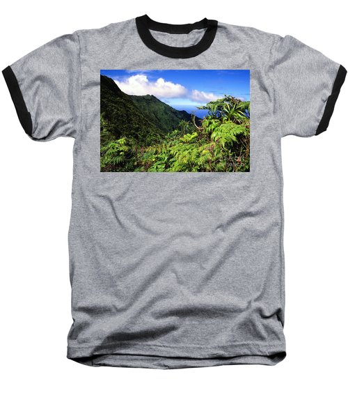 Koolau Summit Trail Baseball T-Shirt