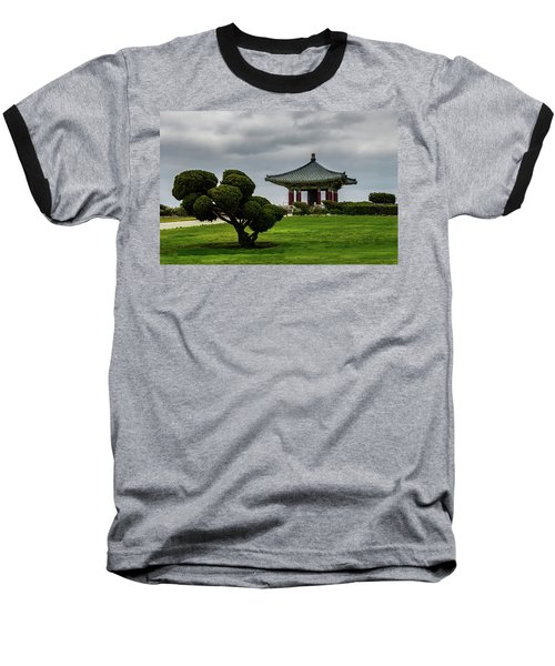 Korean Bell Of Friendship Baseball T-Shirt