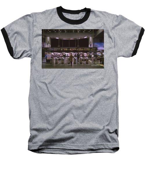 Kyoto Train Station, Japan Baseball T-Shirt