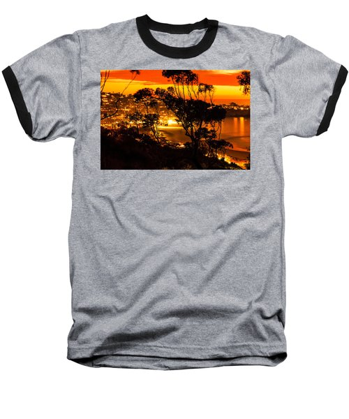 La Jolla Sunset Baseball T-Shirt