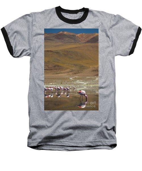 Laguna Colorada, Andes, Bolivia Baseball T-Shirt by Gabor Pozsgai