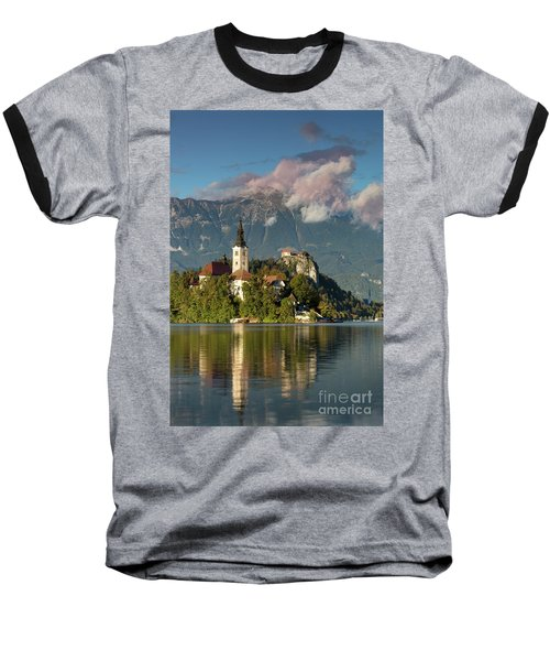 Baseball T-Shirt featuring the photograph Lake Bled by Brian Jannsen
