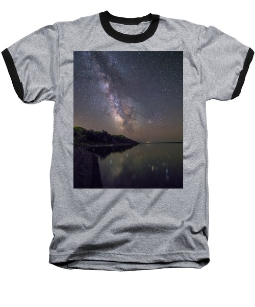 Baseball T-Shirt featuring the photograph Lake Oahe  by Aaron J Groen