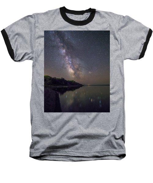 Lake Oahe  Baseball T-Shirt