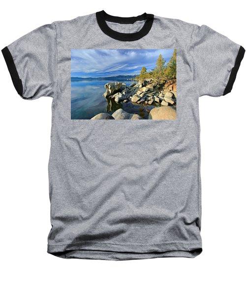 Lake Tahoe Rocks Baseball T-Shirt