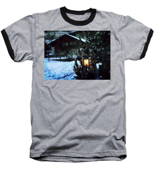 Lantern In The Woods Baseball T-Shirt