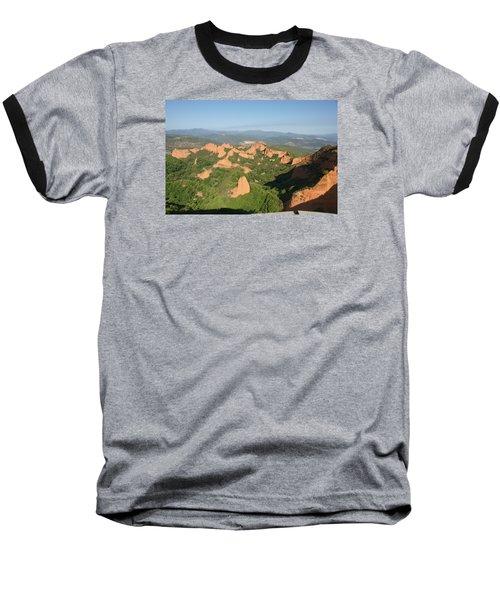 Baseball T-Shirt featuring the photograph Las Medulas by Christian Zesewitz