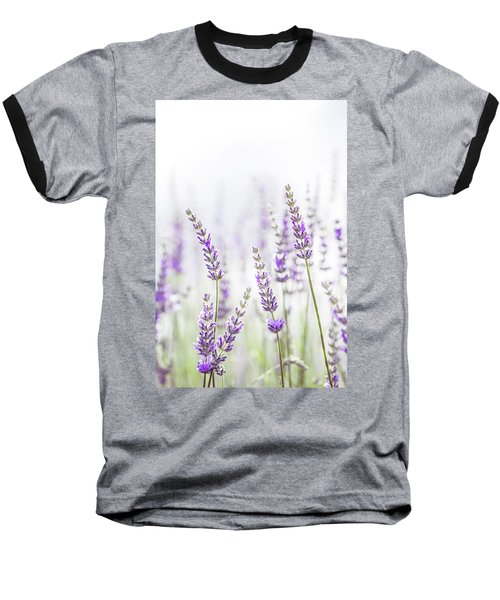 Baseball T-Shirt featuring the photograph Lavender Flower In The Garden,park,backyard,meadow Blossom In Th by Jingjits Photography