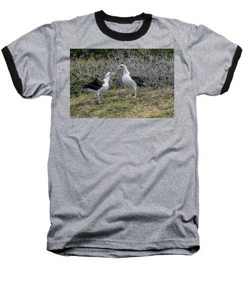 Laysan Albatross Hawaii #2 Baseball T-Shirt