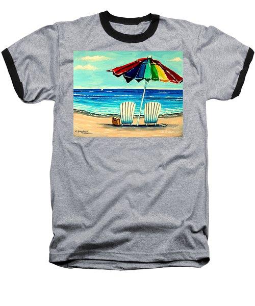 Lazy Days Baseball T-Shirt