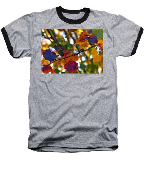 Leaves Of Autumn Baseball T-Shirt