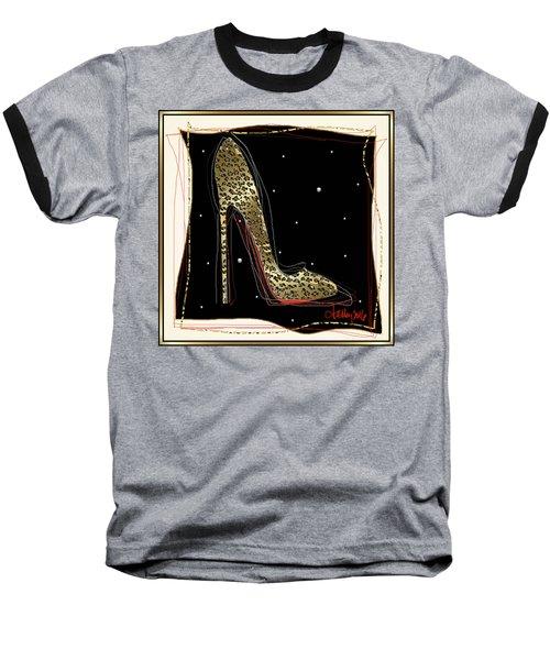 Leopard Louboutin Baseball T-Shirt