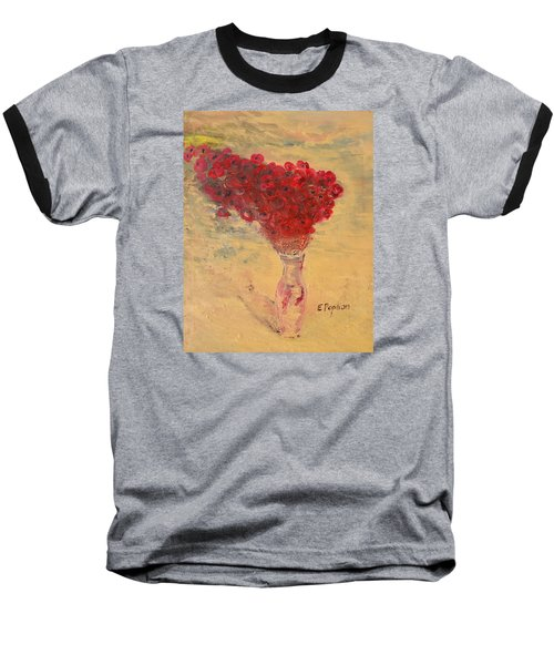 Lest We Forget Baseball T-Shirt by Evelina Popilian