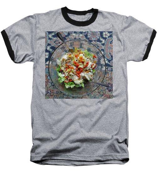 Baseball T-Shirt featuring the photograph Lets Do Lunch by Joel Deutsch