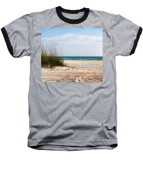 Lido Beach Baseball T-Shirt by Athala Carole Bruckner