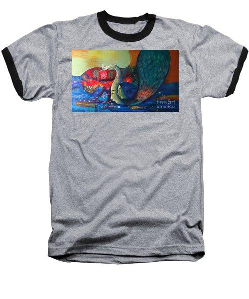 Life Baseball T-Shirt by Sanjay Punekar