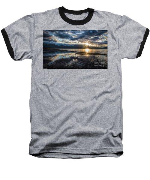 Light The Way Baseball T-Shirt by Mitch Shindelbower
