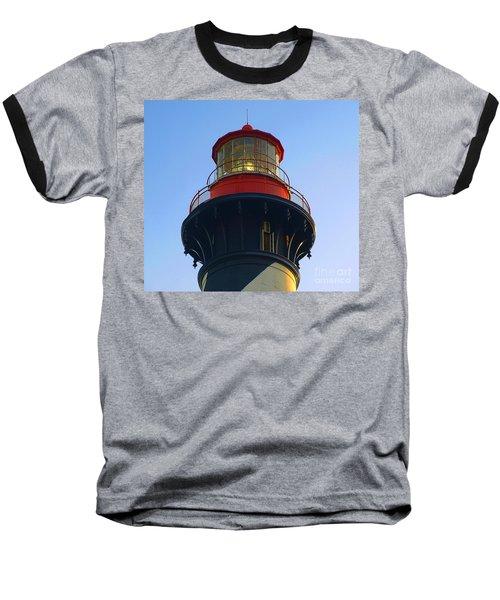 Lighthouse Baseball T-Shirt by Raymond Earley
