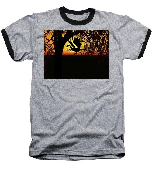 Lights And Shadow Baseball T-Shirt