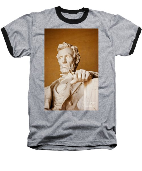Lincoln Memorial Baseball T-Shirt
