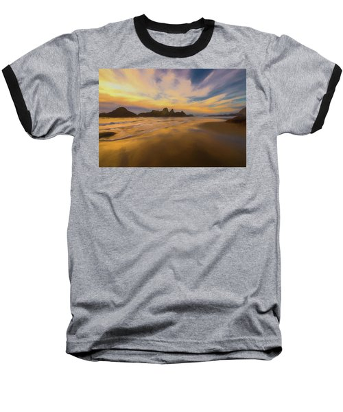 Lines In The Sand 2 Baseball T-Shirt