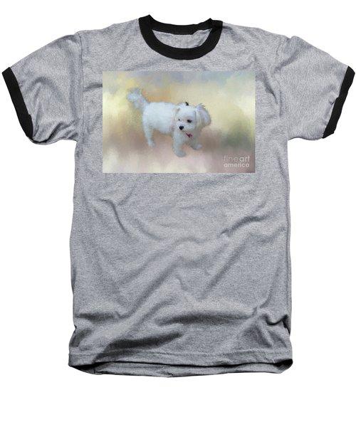 Little Cutie Baseball T-Shirt by Eva Lechner