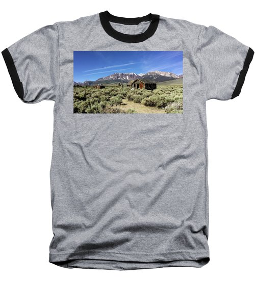 Baseball T-Shirt featuring the photograph Little House by Joseph G Holland