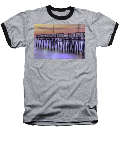 Little Island Pier Baseball T-Shirt